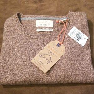 NWT Weatherproof Cotton Merino Cashmere Sweater XL